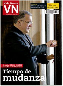 portada Vida Nueva Tiempo de mudanzas de obispos 3066 enero 2018