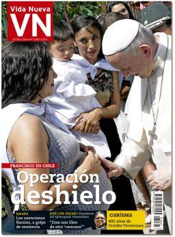 portada Vida Nueva Viaje del papa Francisco a Chile 3067 enero 2018