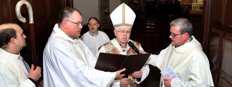 El arzobispo Julián Barrio preside la ceremonia de apertura del Año Jubilar Mercedario en el Convento de las Mercedarias de la capital compostelana el 17 de enero de 2018