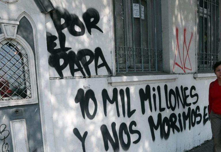 La Iglesia Cristo Pobre, de Santiago de Chile, atacada días antes del viaje del Papa/EFE