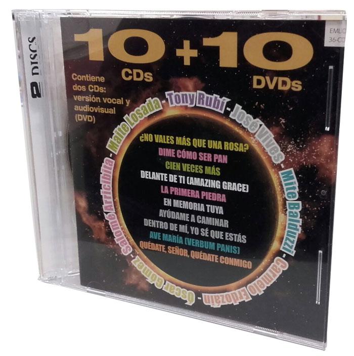 10+10 cd de canciones de Carmelo Erdozain
