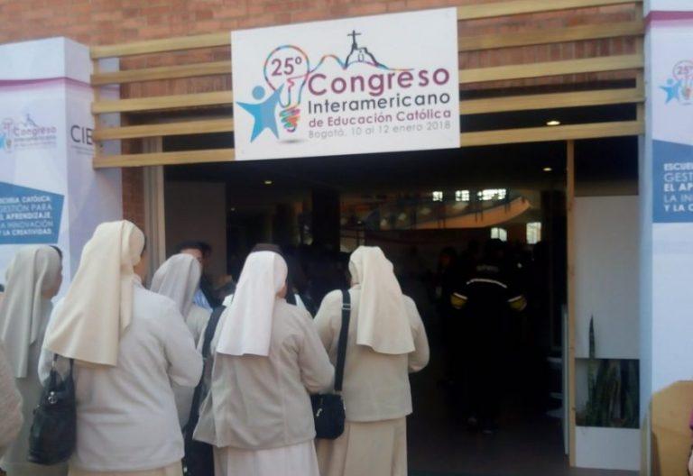 Congreso de la Escuela Católica -CIAC, celebrado en Bogotá del 10 al 12 de enero de 2018Congreso de la Escuela Católica -CIAC, celebrado en Bogotá del 10 al 12 de enero de 2018