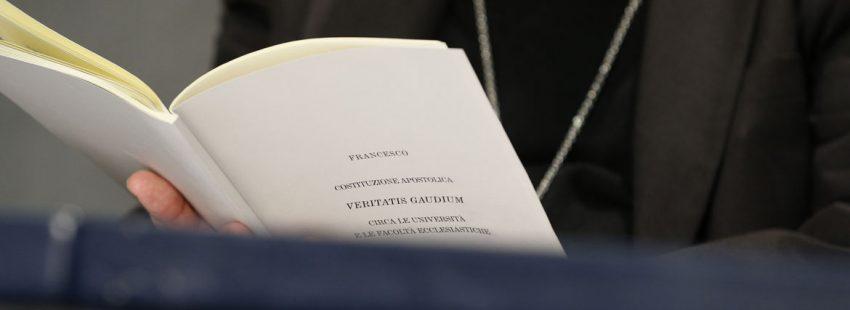 constitución apostólica Veritatis gaudium del papa Francisco sobre las universidades y facultades eclesiásticas enero 2018