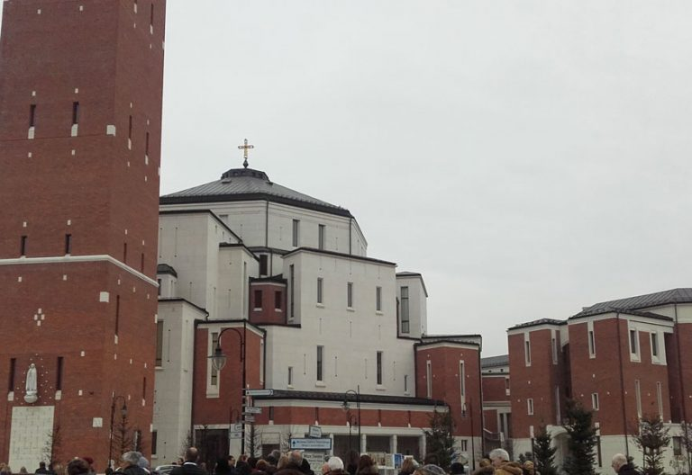 Centro San Juan Pablo II en Cracovia