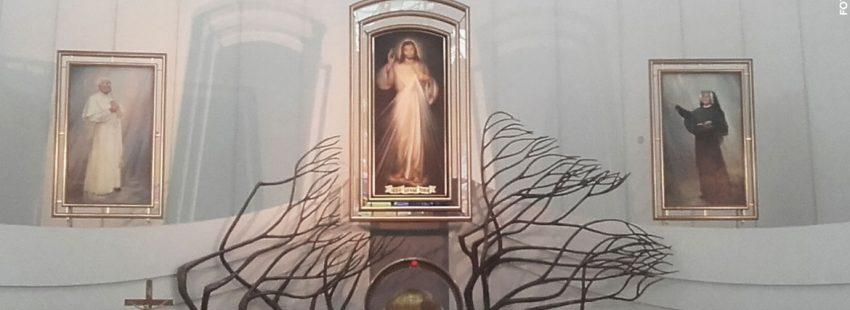 imagen de Juan Pablo II en el Centro San Juan Pablo II