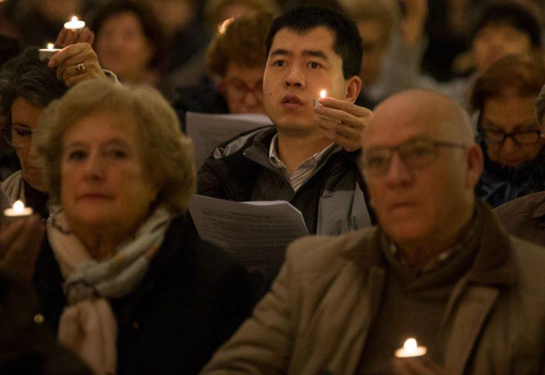 Ceremonia ecuménica en Valladolid en la Semana de Oración por la Unidad de los Cristianos en enero de 2016