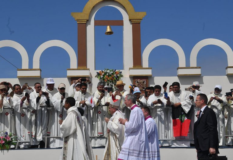 papa Francisco viaje Chile misa en Iquique 18 enero 2018