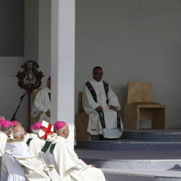 papa Francisco viaje a Chile preside la misa en Santiago Parque OHiggins 16 enero 2018