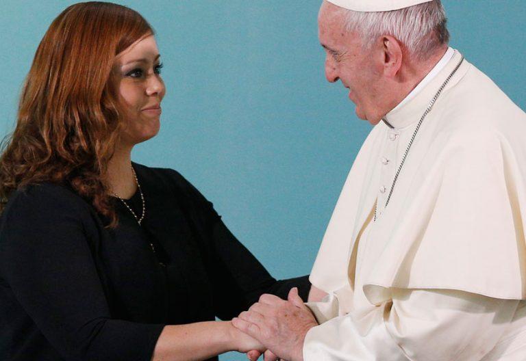 papa Francisco viaje Chile visita al Centro Penitenciario femenino de Santiago 16 enero 2018