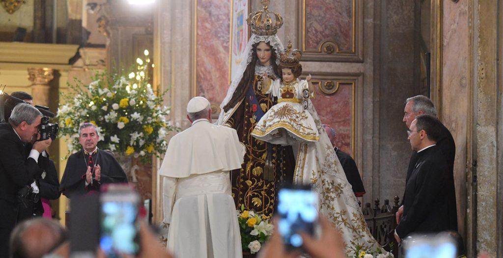 papa Francisco viaje a Chile encuentro con sacerdotes y religiosos 16 enero 2018