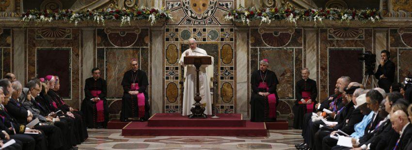 papa Francisco discurso al Cuerpo Diplomático 8 enero 2018