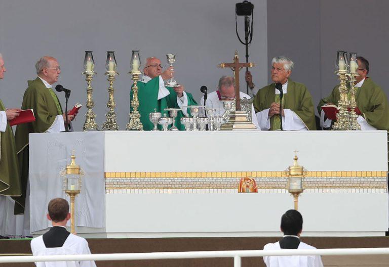 papa Francisco viaje Perú última misa base aérea de Lima 21 enero 2018