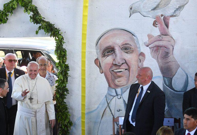 papa Francisco viaje Perú Casa Hogar El Principito 19 enero 2018