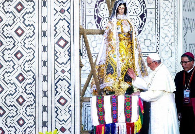 papa Francisco viaje Perú Puerto Maldonado 19 enero 2018