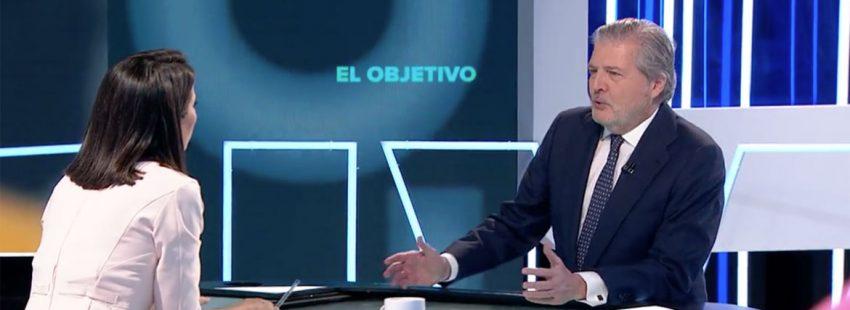 Íñigo Méndez de Vigo, ministro de Educación Cultura y Deporte programa entrevistas El Objetivo La Sexta enero 2018