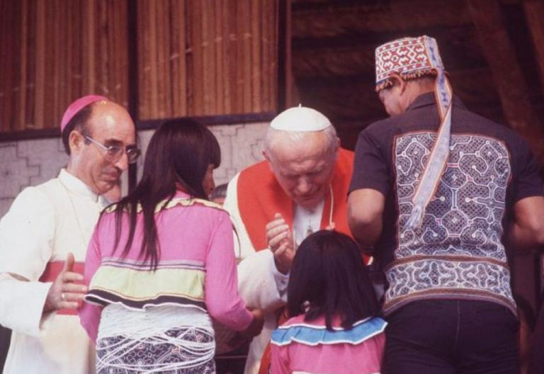 Juan Pablo II viaje Perú 1988