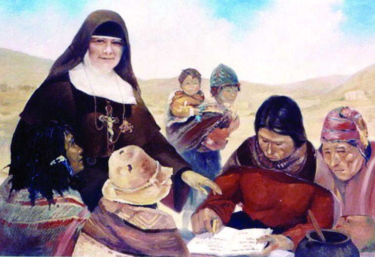 La madre Nazaria, fundadora de las Misioneras Cruzadas de la Iglesia