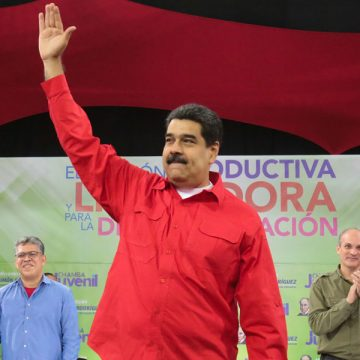 Nicolás Maduro presidente Venezuela enero 2018