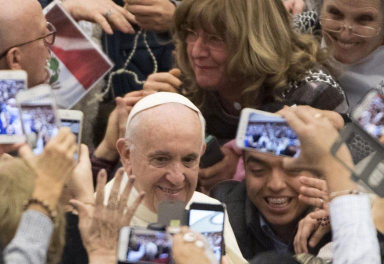 papa Francisco en la audiencia general 10 enero 2018