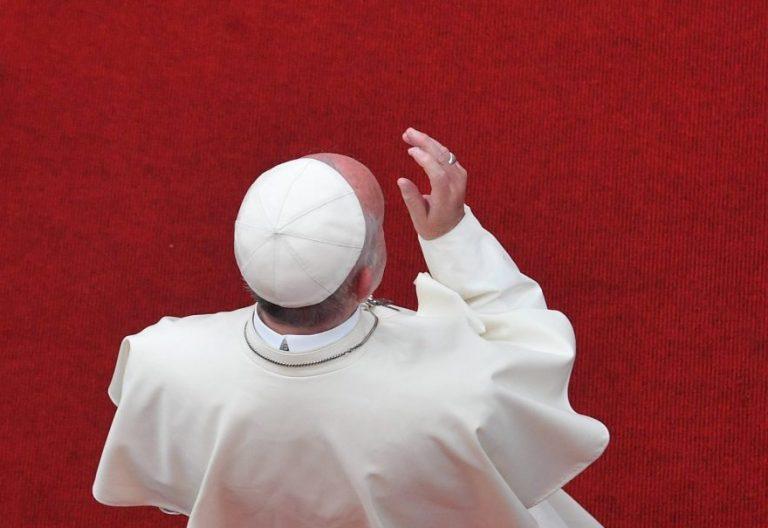 El Papa Francisco, en su encuentro con los religiosos, en Lima, en Perú/EFE