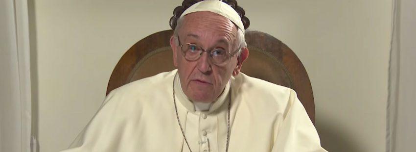 videomensaje del papa Francisco antes de su viaje a Chile y Perú enero 2018