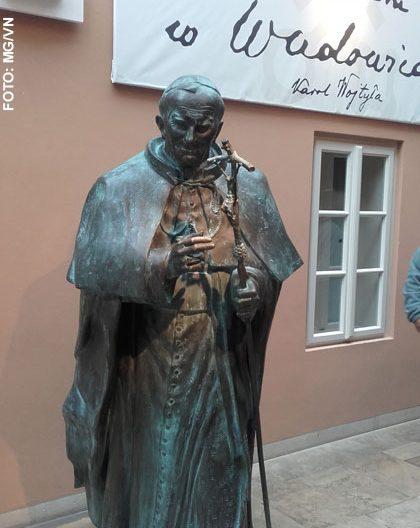 imagen de Juan Pablo II en Wadowice Museo Casa natal