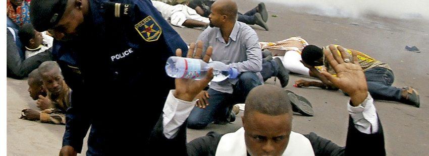 Protestas en RD Congo contra Kabila con presencia de sacerdotes
