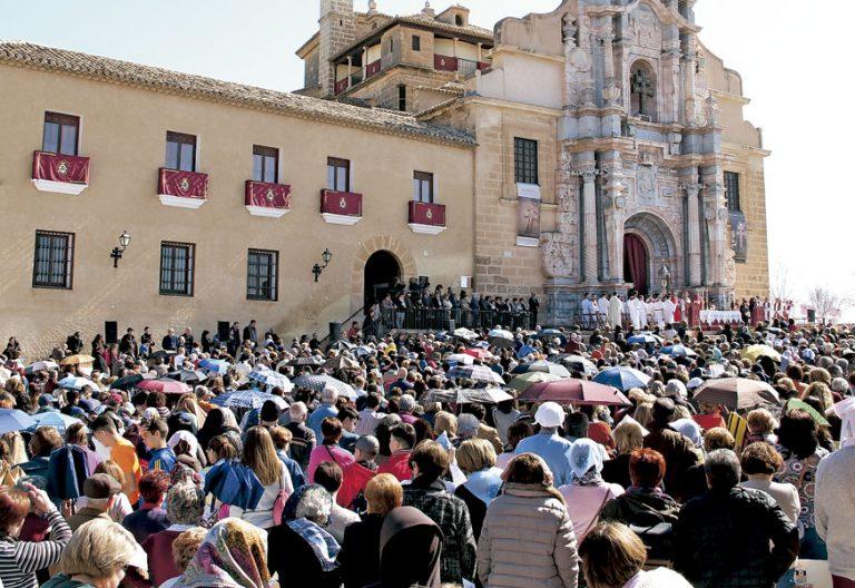 Celebración por el Jubileo de Caravaca de la Cruz, en Murcia