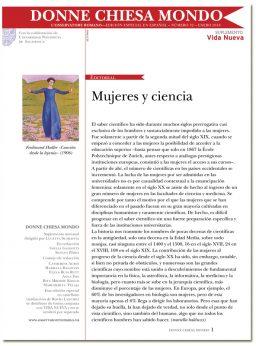 portada Donne Chiesa Mondo mujeres y ciencia 3069 febrero 2018