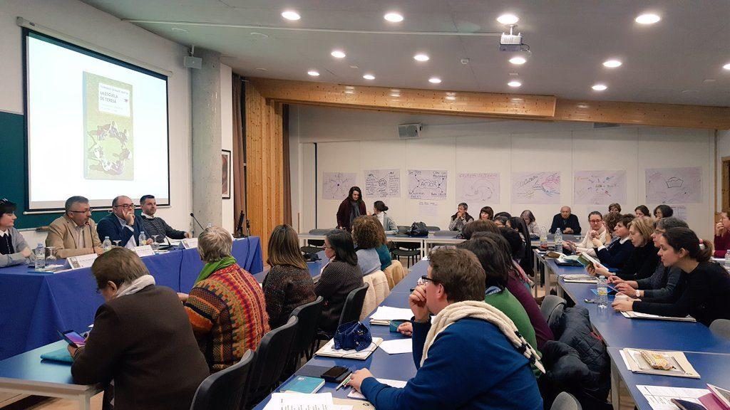 Presentación del libro 'La escuela de Teresa', en Ávila, el pasado 2 de febrero