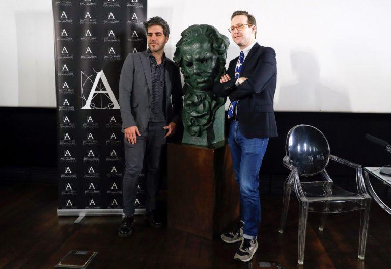 Ernesto Sevilla y Joaquín Reyes, presentadores de la gala de los Premios Goya
