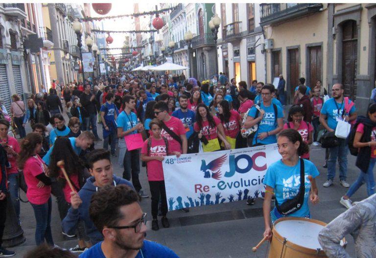 Encuentro nacional de la JOC en las Palmas de Gran Canaria