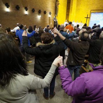 Celebración de una eucaristía en una parroquia en Valladolid/IGLESIA EN VALLADOLID