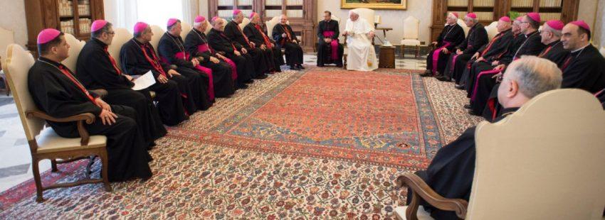 Los obispos caldeos, recibidos en visita ad limina por Francisco/LOR