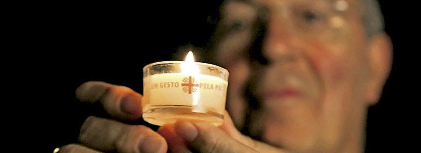 Un gesto por la paz celebrado en Portugal