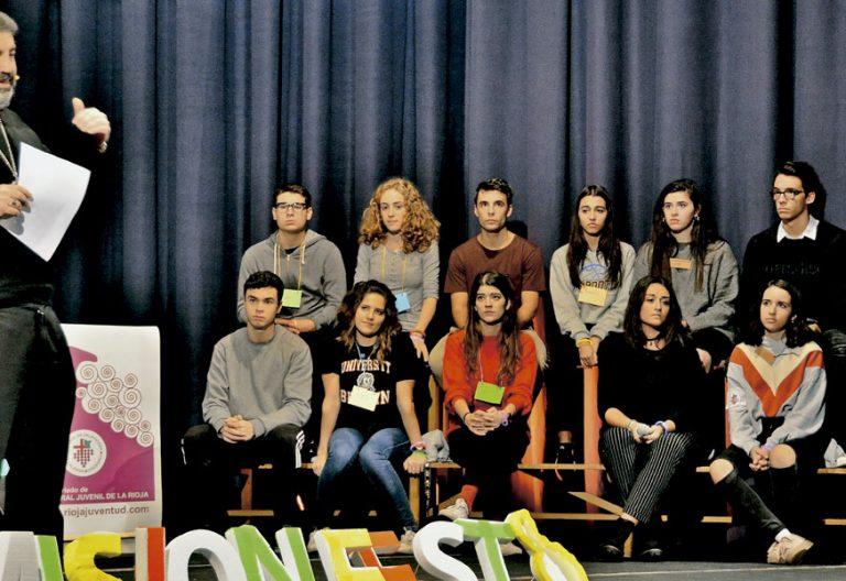 Carlos Escribano, en un festival juvenil en la Diócesis de Calahorra-La Calzada Logroño