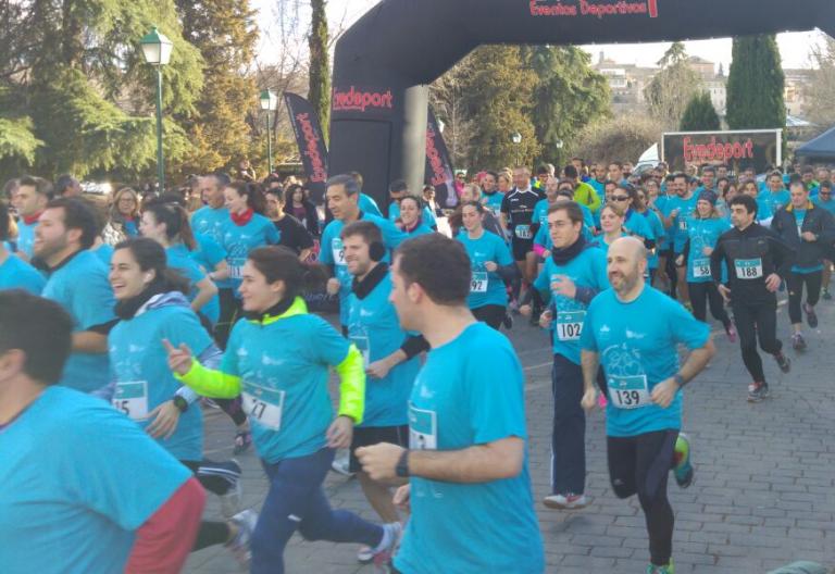 Cáritas Toledo organiza una carrera en favor de la mujer y la vida