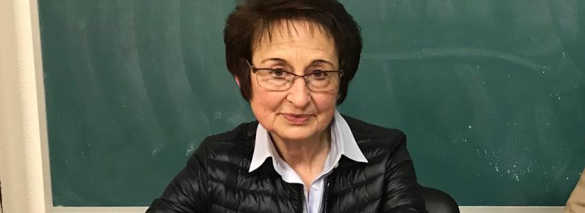Mª. Carmen Hernández participó en la actividad de reconcicliación de la diócesis de Vitoria