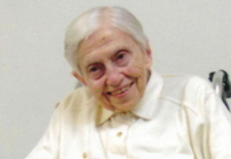 Elvira Escudero, religiosa mercedaria de Bérriz, es la misionera española más longeva a sus 101 años de edad, cumplidos el 19 de febrero de 2018