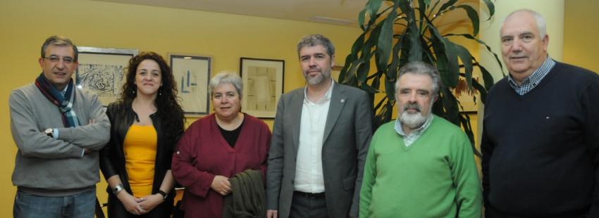 Ilesia y sindictos dialogan sobe el mundo laboral