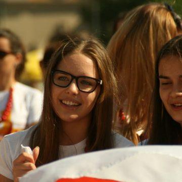 Un grupo de jóvenes en la JMJ de Cracovia/JMJ