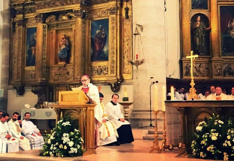 Joaquín López de Andújar se despide como obispo de Getafe