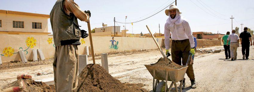 Cristianos regresan a la Llanura de Nínive, al norte de Irak, y reconstruyen las ciudades devastadas por la guerra