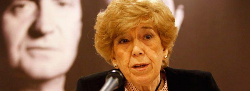 La periodista Pilar Urbano, en la presentación de su libro