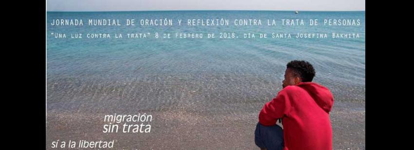 el 8 de frebrero se celebra la jornada mundial contra la trata de personas