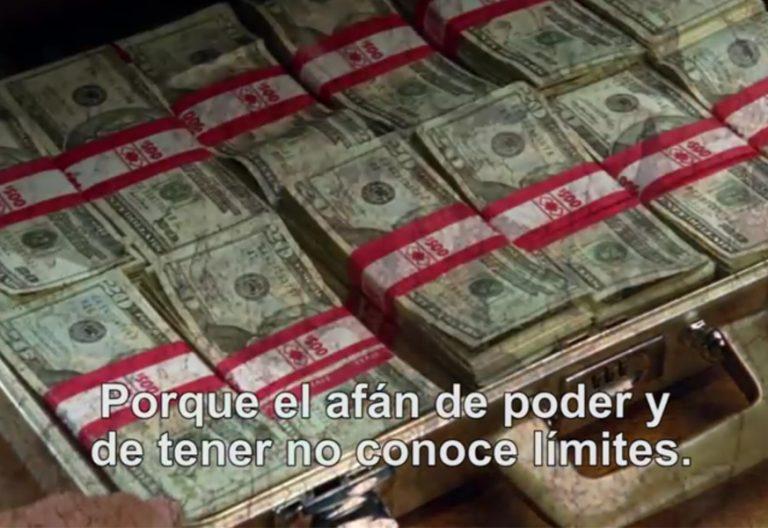 vídeo del papa Francisco contra la corrupción febrero 2018