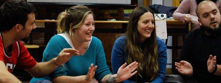 jovenes en el pre sinodo foto de raquel lara