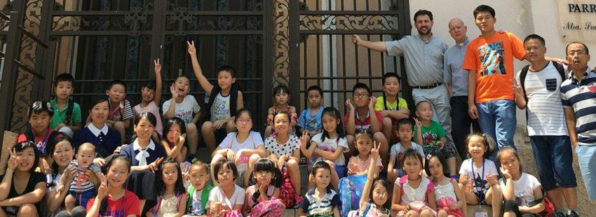 La comunidad católica china en España, Madrid