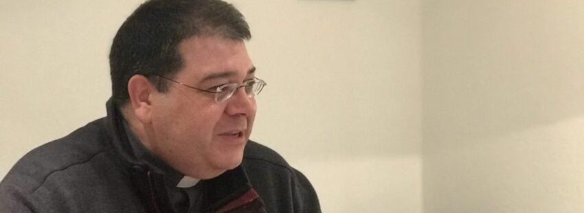 Carlos Martínez Oliveras, director del ITVR, durante el desayuno de prensa/VN