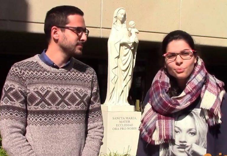 Cristina Cons y Javier Medina, los dos jóvenes que representan a España en el presínodo de los jóvenes